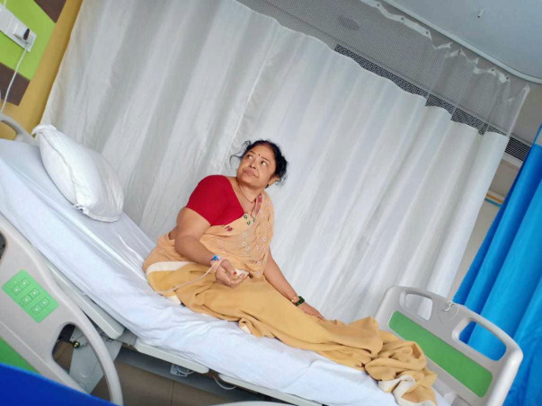 Help My Mother Radhika Devi Fight From Lung Cancer