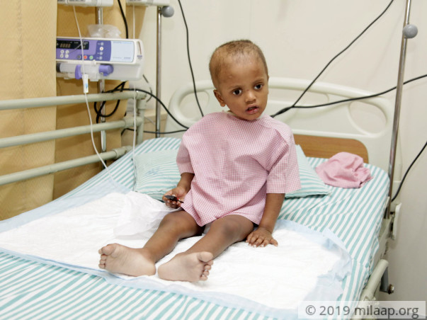 Save 3-Year-Old Jayanth From The Cancer In His Brain