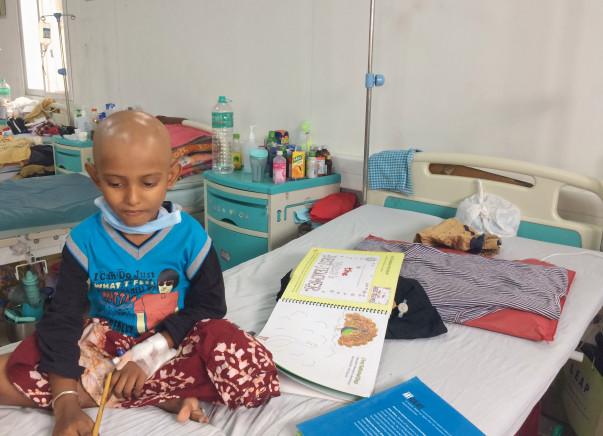 Help 6-Year-Old Arnab Undergo Chemotherapy