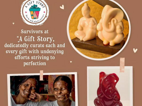 """Introducing """"A Gift Story"""": A New initiative by Acid Attack Survivors"""