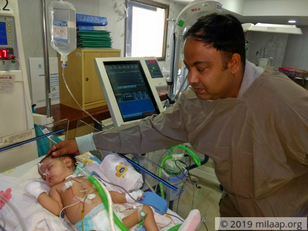 Teacher Struggles To Save His 6-month-old Baby From Lung Infection
