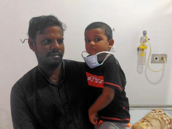 Help 2-year-old Emmanuel Get Treatment For Blood Cancer