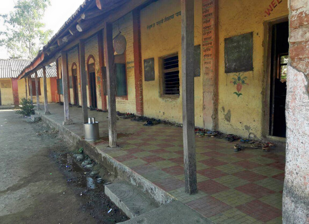 To construct toilets for girls in Aadarsh Vidyamandir, Palghar Dist