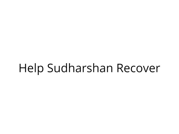 Help Sudharshan Recover from Severe Leg Injuries