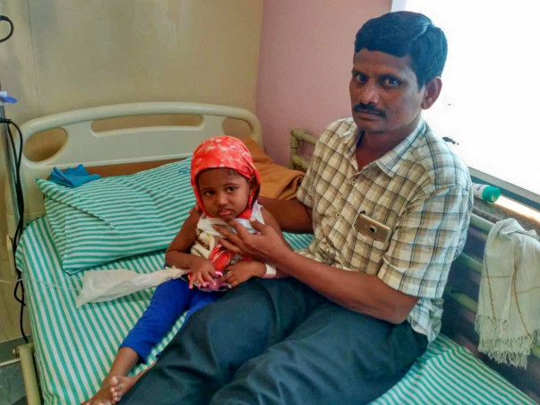 Help 3-year-old Sanvi fight blood cancer