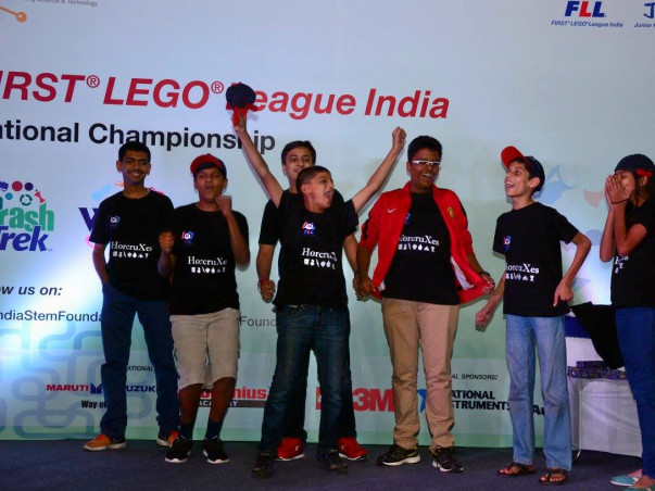 Support Team India for European Robotic Championship - FLL OEC 2016