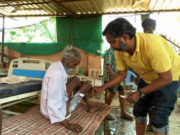 Provide medicines for the Elderly abandoned!