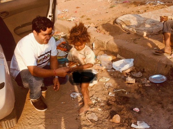 Help needed to Provide Food and Education to Under-privileged Children