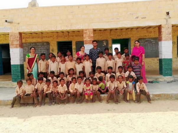 Support Kids Of A Govt School, Jaisalmer Study
