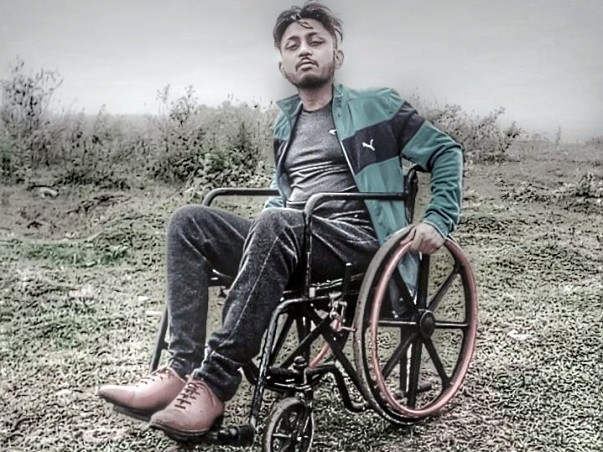 Help Pallav Banik, a wheelchair user lead an active lifestyle.