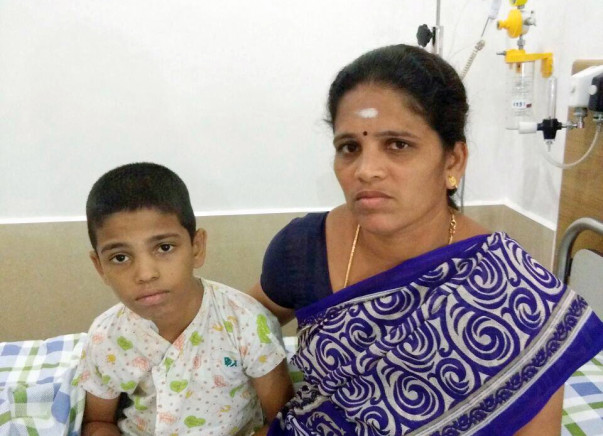 Help Thalassemia Victim Dinakar, age 11