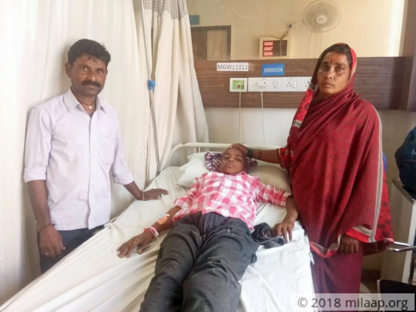 Cancer Will Cripple And Kill This 16-year-old Farmer's Son