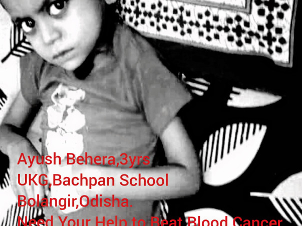 Help Ayush to Beat Blood Cancer