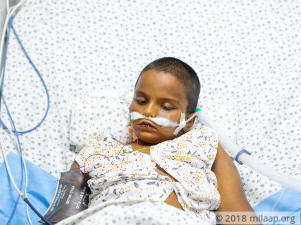 5-year-old Surya has only one day to get an urgent liver transplant