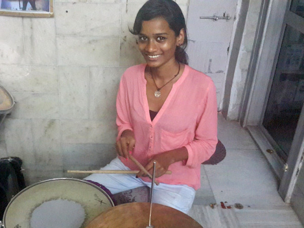 I am fundraising to send Sheetal From A Red Light Area To A Drumming School In U.S