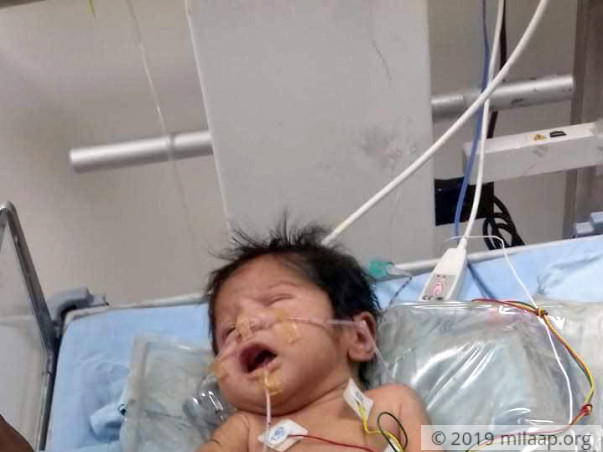 Baby of Sweta is in the ICU and needs your help to survive