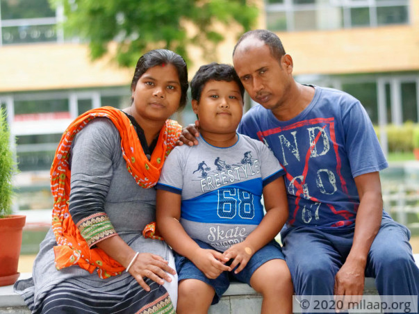Santanu Barua  needs your help to undergo his treatment