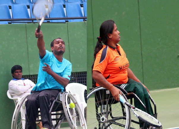 Sending Shilpa & Shekhar to International Wheelchair Tennis Tournament