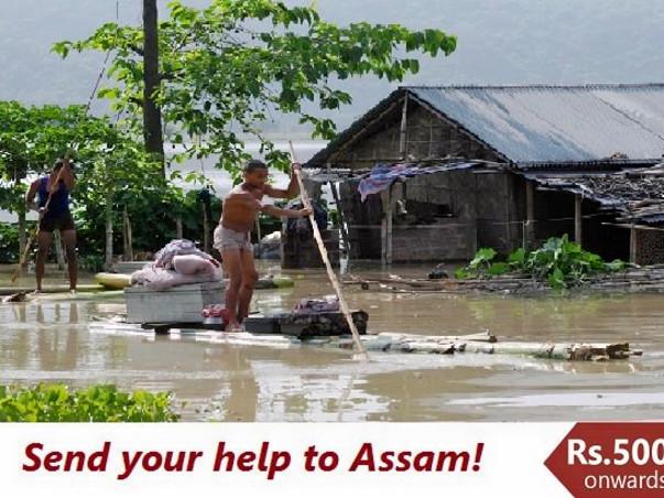 Assam Floods – Urgent Appeal for Help!