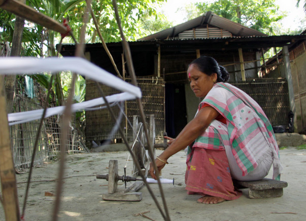 Attempt To Light Up The Homes Of Weavers In Assam