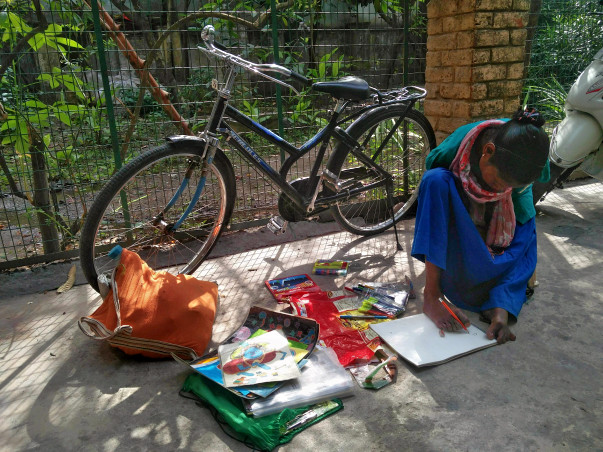 Saving Anjana: Help The Handless Artist