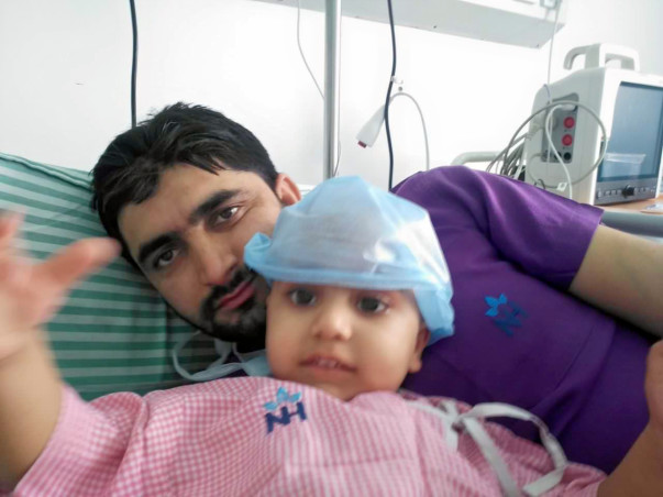 Help Save Two Year old Arsalan Continue Treatment.