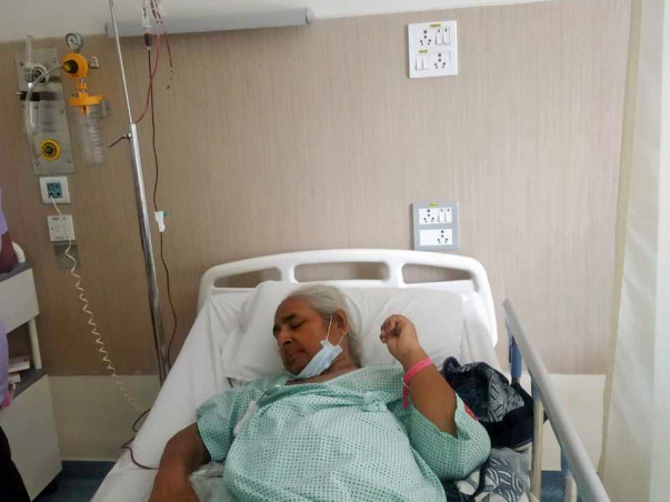 Help My Mother Fight Adenocarcinoma of Rectum and lung