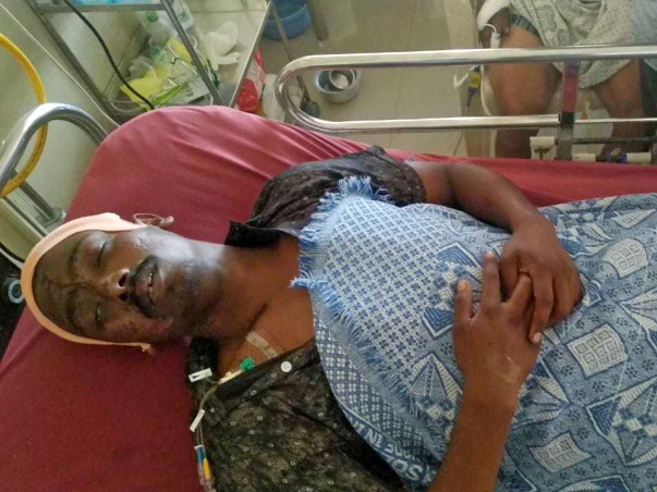 Help Sandeep Recover From A Serious Accident