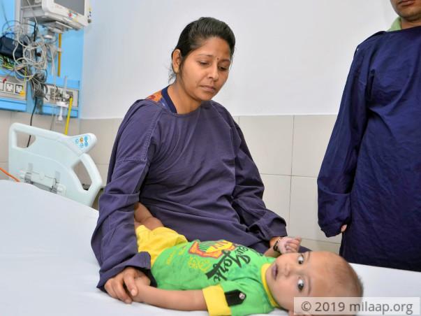 Aarav Kumar needs your help to undergo his surgery