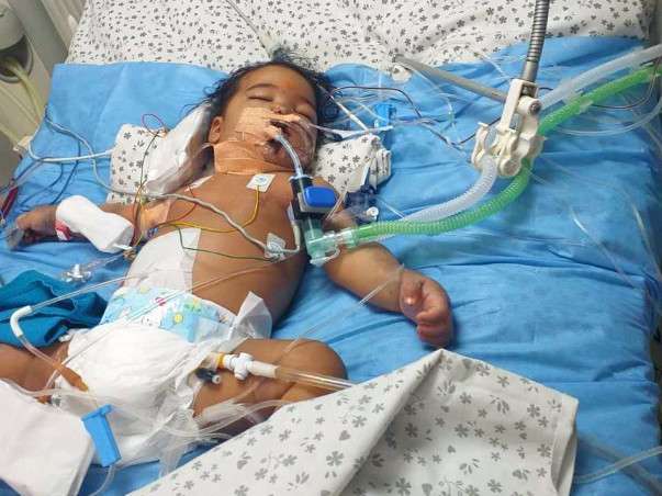 This priest's daughter is on ventilator and needs urgent support.