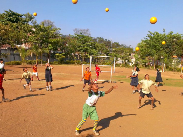 When each child gets a ball, the world is theirs to live. Support 'Just For Kicks' in making it happen.