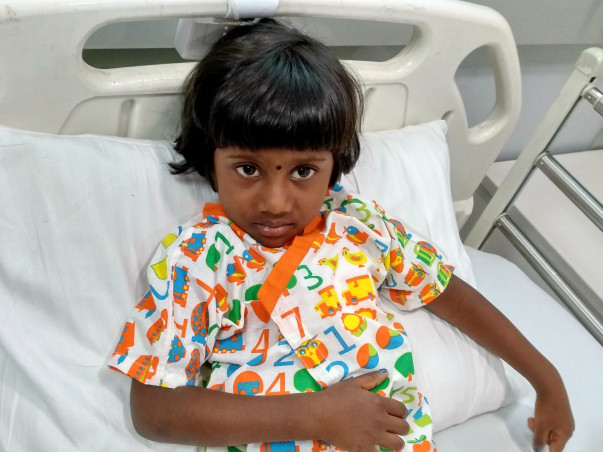 Help this 4-year-old girl fight a severe heart disease