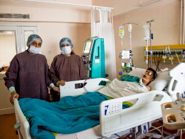 11-year-old Puransh needs an urgent liver transplant to survive