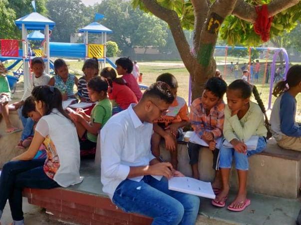 Please Contribute To Educate Underprivileged Children (Shaili Goyal)