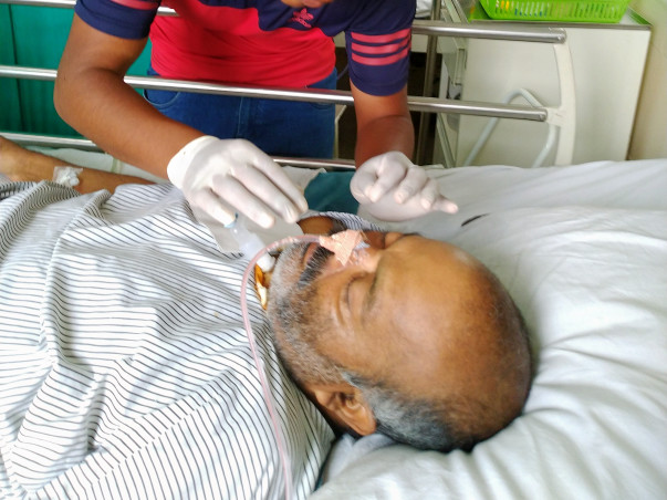 Help my father for a better treatment