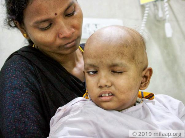 Help Ishan Fight Brain Tumor