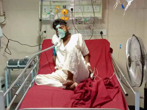 Help Santhosh Recover