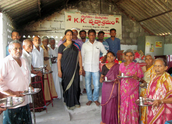 For expansion and  provide better facilities for inmates of oldagehome