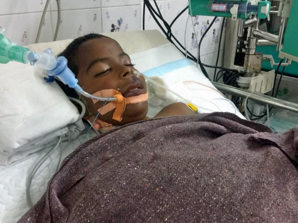Support father and son's battle for life post accidental electrocution