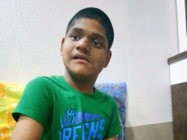 Help 17-Year-Old Aakash undergo Neuro Regen. Rehabilitation Therapy