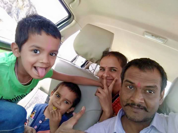 Support For Ajay Dubey's Family