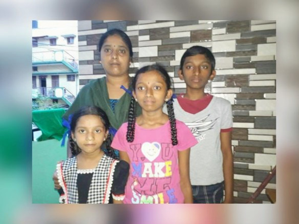 Usha Needs Your Support To Educate Her Kids
