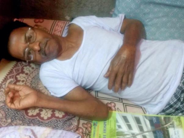 Help Dattaram, who is bedridden for 11 months, get back on his feet