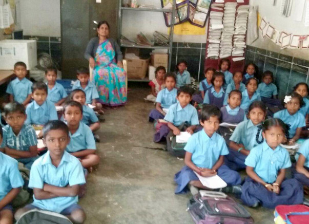 Help Us Buy Benches For 600 Kids At Amrutahalli School