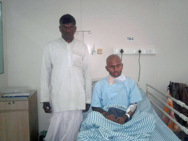 Help 23-year old Kashirayappa undergo a BMT