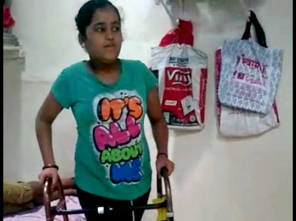 This School Girl Was Suddenly Paralyzed From Hip Below, Help Her