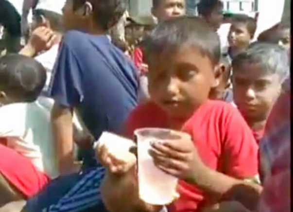 Relief for rohingya refugees