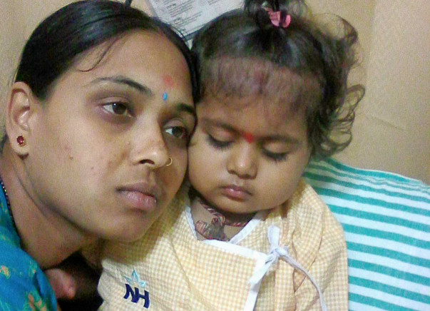 Baby Manvitha Needs Your Support To Fight Blood Cancer