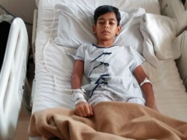 Help 12 Year Old Sayafali Get Bone Marrow Transplant.