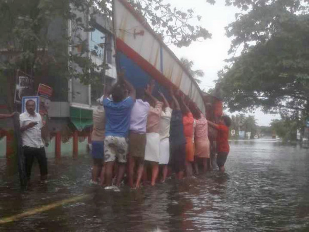 Let's Lend Our Hand To Help Distressed And Deluged Homeless in Kerala.
